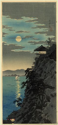 JAPAN PRINT GALLERY: Moonlight