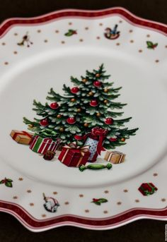 Villeroy and Boch Christmas Tabletop, Christmas China, Christmas Dishes, Woodland Christmas, Christmas Table Settings, Christmas Tablescapes, All Things Christmas, Christmas Home, Christmas Holidays