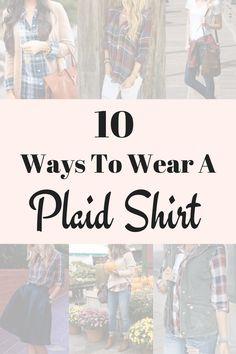 10 façons de porter un T-shirt Plaid
