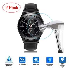 Good Sale 2PC Frosted Scrub Screen Protector Film For Samsung Gear S3 Classic Oct 7 #Affiliate