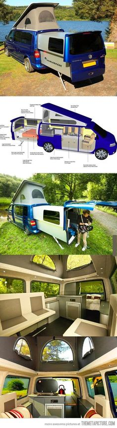 Danbury Doubleback VW T5 Van/Camper Conversion - not available in the U.S. :(