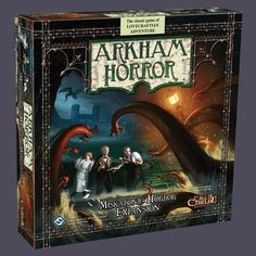 Arkham Horror Miskatonic Horror: Fairyglen.com