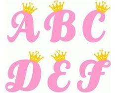 Letras Princesas