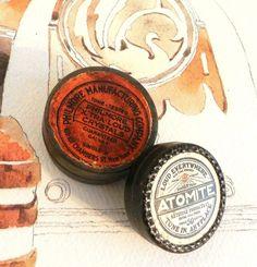 Antique Radio Antique Atomite Radio Crystal by happenstanceNwhimsy, $40.00