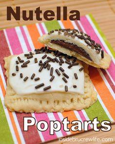 Nutella Poptarts | Inside BruCrew Life