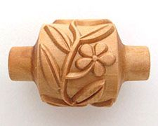 MKM Pottery Tools RM-046 vines & flower roller.
