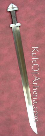 The single-edged Viking sword.  Brutal elegance.  Again, must have.