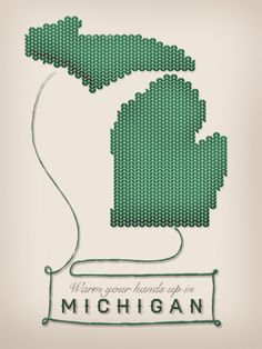 Warm your hands up in Michigan.