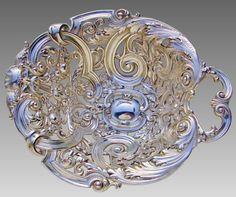 Gorham Sterling Figural Bonbonniere c1885