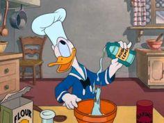 Listening activity: beginner: Donald fait la cuisine