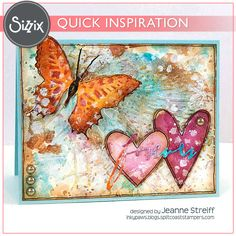 Sizzix Inspiration   Forever by Jeanne Streiff