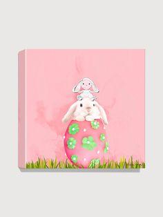 Antonia Press  Easter Bunny Canvas Print