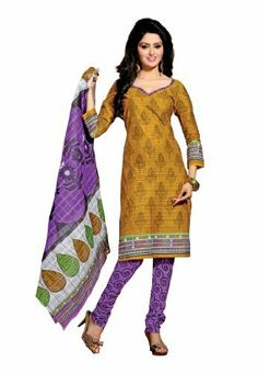 Fabdeal Indian Designer Pure Cotton Golden & Lavender Printed Salwar Fabdeal Inc, http://www.amazon.fr/dp/B00IRBAU68/ref=cm_sw_r_pi_dp_6protb1VDFRFF