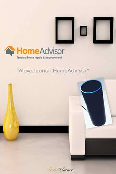 Alexa Skill: HomeAdvisor - www.theteelieblog.com Sink backed up? Need an air conditioner installed? The new HomeAdvisor skill for Alexa can connect you with pre-screened home service pros for help on hundreds of home projects. #amazonecho