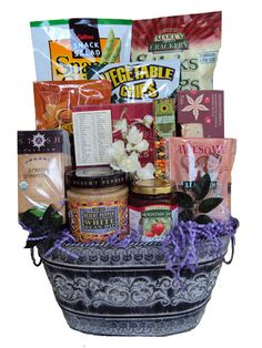 Someone you love have a gluten allergy and feeling under the gluten free get well basket see more healthy mothers day gift basket negle Choice Image
