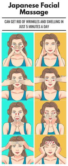 Yoga Facial, Facial Massage, Facial Diy, Hair Massage, Massage Tips, Self Massage, Beauty Tips For Glowing Skin, Health And Beauty Tips, Beauty Skin