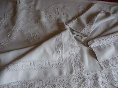 Details about ANTIQUE FRENCH LINEN SHEET/ PILLOW SHAM/ BOLSTER COVER ANTIQUE…