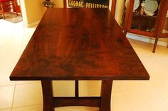 Trestle Table Dining / Conference Reclaim wood dine table