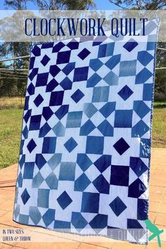 Clockwork Quilt Pattern - Nightingale Quilts Craftsy
