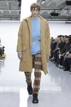 Lou Dalton Menswear Fall Winter 2016 London