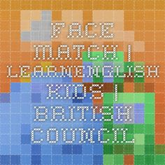 Face Match. IWB activity.