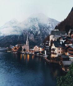Hallstatt Austria by James Relf Dyer Oh The Places You'll Go, Cool Places To Visit, Places To Travel, Travel Destinations, Travel Photographie, Hallstatt, Photos Voyages, Adventure Is Out There, Location
