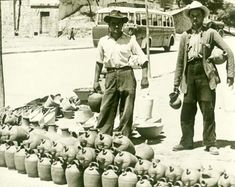El botijero Vendiendo botijos por los pueblos