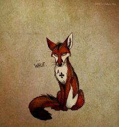 Ace by Culpeo-Fox on DeviantArt Wolf Character, Character Design, Cartoon Drawings, Animal Drawings, Fox Memes, Godzilla Comics, Fox Drawing, Fabulous Fox, Fox Girl