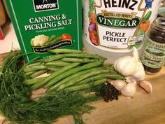 Update: This recipe won a place Blue Ribbon at the 2013 Arizona State Fair in the Pickles, Relishes, and Spiced Fruits category. I'd heard about Dilly Beans when I first got into canning. Pressure Canning Green Beans, Heinz Vinegar, Dilly Beans, Canning Vegetables, Veggies, Can Green Beans, Cook N, Drying Dill
