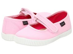 Aster Kids Vric (Toddler/Youth) Pink Canvas - 6pm.com
