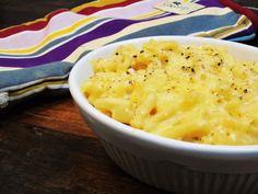Healthy Mac & Cheese - Slimming World - Syn Free - Easy Recipe