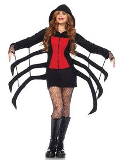 Adult Cozy Spider Costume by Fancy Dress Ball