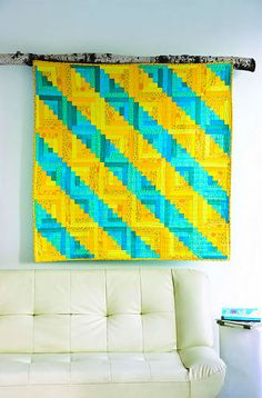 Modern Log Cabin Quilting Blog Tour And Giveaway