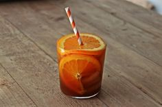 Pumpkin Citrus Smash: Bourbon, pumpkin ale, orange juice and maple syrup—everybody's in the pool for this harvest-ready cocktail from Beautiful Booze.