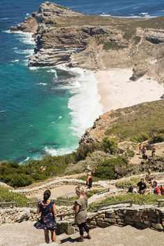 Cape Point Nature Reserv, South AFrica. A must-see destination offering dramatic scenery, fantastic hiking trails & deserted beaches with spectacular ocean views. #Africa #travel #landscape