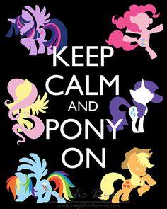 Pony en - una interpretación artística se presentó en una alta calidad de impresión 8 X 10. My Little Pony, Friendship is Magic.