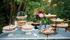 5 Tips for Creating an Inviting Wedding Pie Dessert Buffet september country wedding ideas Wedding Pie Table, Wedding Reception On A Budget, Wedding Desserts, Wedding Cakes, Wedding Ideas, Wedding Buffets, Wedding Dinner, Reception Ideas, Wedding Decor