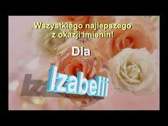 Piosenka, prezent na imieniny dla Izabelii - YouTube Happy Birthday, Youtube, Names, Gifts, Pictures, Happy Brithday, Presents, Urari La Multi Ani, Happy Birthday Funny