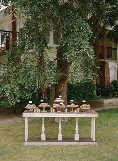 donut-table-at-wedding-reception