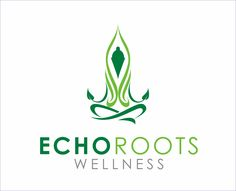 Logo Design by Armada Jamaluddin - Entry No. 90 in the Logo Design Contest Funky Logo Design for Echo Roots Wellness.