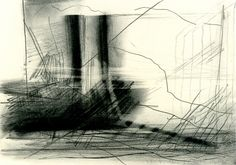 gerhard-richter Graphite and black pencil on paper