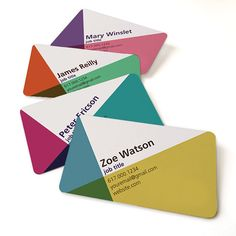 Business card set of 100 / Namecard / Calling card / Mommy card / Minimalist / Contemporary / Modern / offset printing / Geometric design