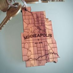 Minneapolis keychain