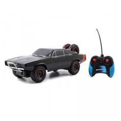 A remote-controlled car styled after the one seen in the new Fast & Furious 7.
