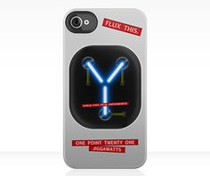 Back to the Future Flux Capacitor iPhone Case!!! I must own this!!!