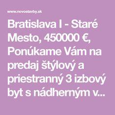 Staré Mesto Bratislava I Bratislava, Mesto, Search, Searching