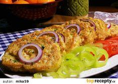 Veka v česnekovém vajíčku se šunkou a sýrem recept - TopRecepty.cz Sushi, Sandwiches, Tacos, Toast, Food And Drink, Pizza, Chicken, Dinner, Breakfast