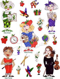 Teachers Too Embroidery Design Collection CD by loraliedesigns, $59.00