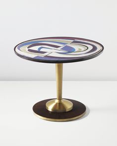 Gio Ponti, Unique center table, designed for the Trunfio House, Milan-1954 - PHILLIPS : NY050212,