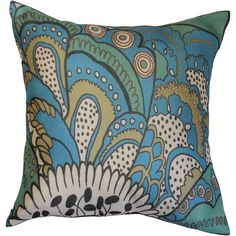 $26 -Jenna Toss Cushion - Skyfall -Urban Barn